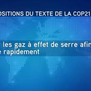 Que contient l'accord de la COP 21 ?