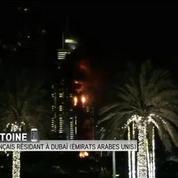 Gigantesque incendie dans une tour de Dubaï