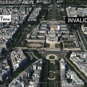Paris : Un véhicule force l'entrée des Invalides