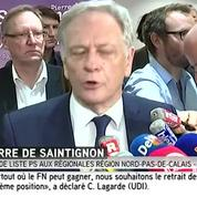 Nord-Pas-de-Calais-Picardie : Pierre de Saintignon (PS) annonce qu'il