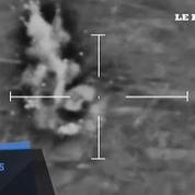 Le Royaume-Uni diffuse des images de ses bombardements en Syrie