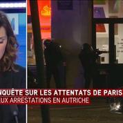Deux suspects liés à des auteurs des attentats de Paris arrêtés en Autriche