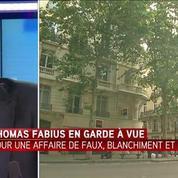 Thomas Fabius en garde à vue pour faux, blanchiment et escroquerie