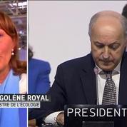 Ségolène Royal: Cet accord préfigure des actions très concrètes