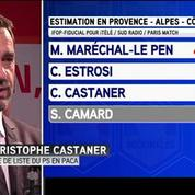 Régionales : Christophe Castaner (PS) se retire en PACA pour le second tour