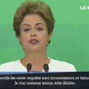 Brésil: la présidente visée par une procédure de destitution