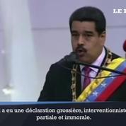 Nicolás Maduro attaque Manuel Valls
