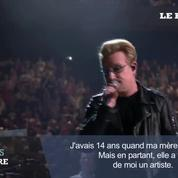 A Paris, Bono rend hommage aux victimes des attentats