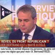 Bertrand : «Je salue la dignité de Martine Aubry et Pierre de Saintignon»