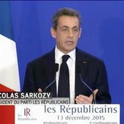 Nicolas Sarkozy : «Cette mobilisation ne doit pas faire oublier les avertissements»