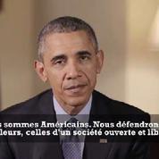 L'appel à l'unité d'Obama aux Américains