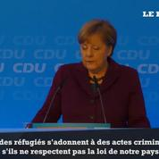 Agressions sexuelles à Cologne: Angela Merkel demande l'expulsion des réfugiés condamnés