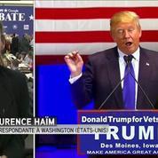 Donald Trump, vedette absolue, même absent