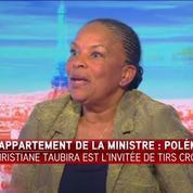 Christiane Taubira répond à la polémique sur son appartement