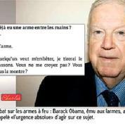 Michel Charasse garde une arme au Conseil Constitutionnel