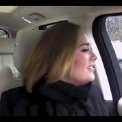 Quand Adèle fait du karaoké dans une voiture