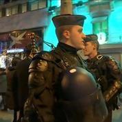 Aux côtés des gendarmes déployés cette nuit sur les Champs-Élysées