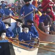 Coup d'envoi du carnaval de Venise