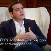 Crise des réfugiés: Tsipras en appelle à la solidarité internationale