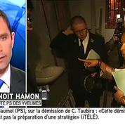 Benoît Hamon salue la «grande loyauté» de Christiane Taubira