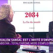 L'écrivain Boualem Sansal, invité d'iTELE