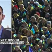 7.000 migrants invités à Rome pour assister à l'Angélus du pape