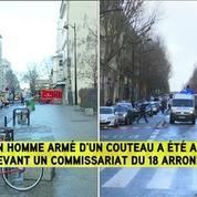 Un homme est arrivé quasiment en courant vers les policiers