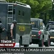Des explosions dans le centre de Jakarta