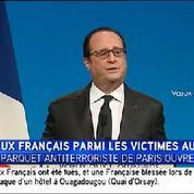 Attentats à Ouagadougou : «Le terrorisme, un terrible fléau» déclare François Hollande
