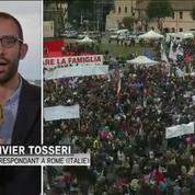 En Italie, les opposants au mariage pour tous se mobilisent