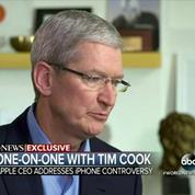 Tim Cook : Le FBI demande l'équivalent du cancer