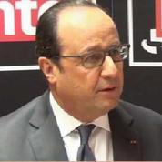 Pour François Hollande, les cotisations, les charges et les impôts sont les ennemis de l'emploi