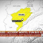 Accident d'un car dans le Doubs : une sortie de route selon la préfecture