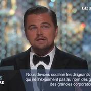 Oscars : Leonardo DiCaprio sacré meilleur acteur