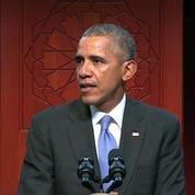 Obama s'est rendu pour la première fois dans une mosquée