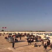 Des milliers de familles syriennes bloquées à la frontière turques