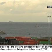 Le cargo Modern Express arrive à Bilbao