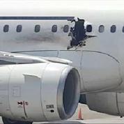 Somalie : les images d'un A321 après l'explosion qui a fait un mort