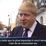 Boris Johnson ne veut qu'une chose: le «Brexit»