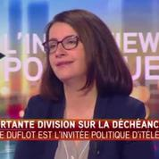 Déchéance de nationalité: Duflot dénonce «un vote acquis dans des conditions un peu tristes»