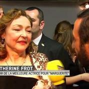 20 ans après, Catherine Frot remporte son deuxième César
