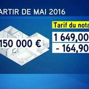Loi Macron: les tarifs pratiqués par les notaires vont baisser