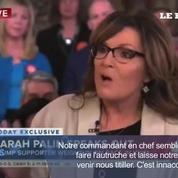 Sarah Palin s'emporte contre des journalistes