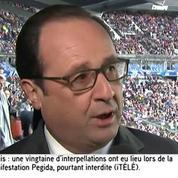 François Hollande au Stade de France : «La vie doit continuer»
