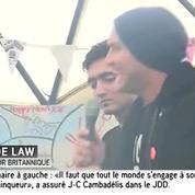 Jude Law dans la jungle de Calais