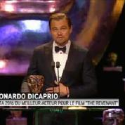 Bafta 2016 : Leonardo DiCaprio sacré meilleur acteur pour The Revenant