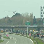 A Rennes, les agriculteurs ont poursuivi leur mobilisation