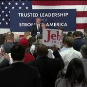Jeb Bush, distancé en Caroline du Sud, abandonne sa campagne