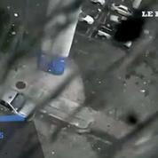 La chute de 30 mètres d'un camion filmée de l'intérieur