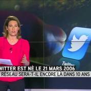 Twitter fête ses 10 ans dans l'inquiétude